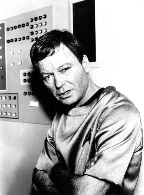 Leonard 'Bones' McCoy.
