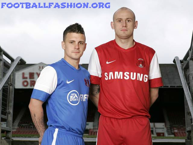 Leyton Orient Nike 2012/13 Home and Away Kits
