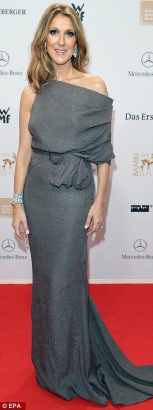 Celine Dion + gown