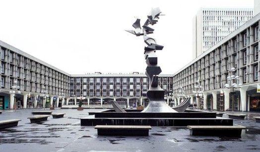 """Centre commercial """"Les Flanades"""", Sarcelles"""