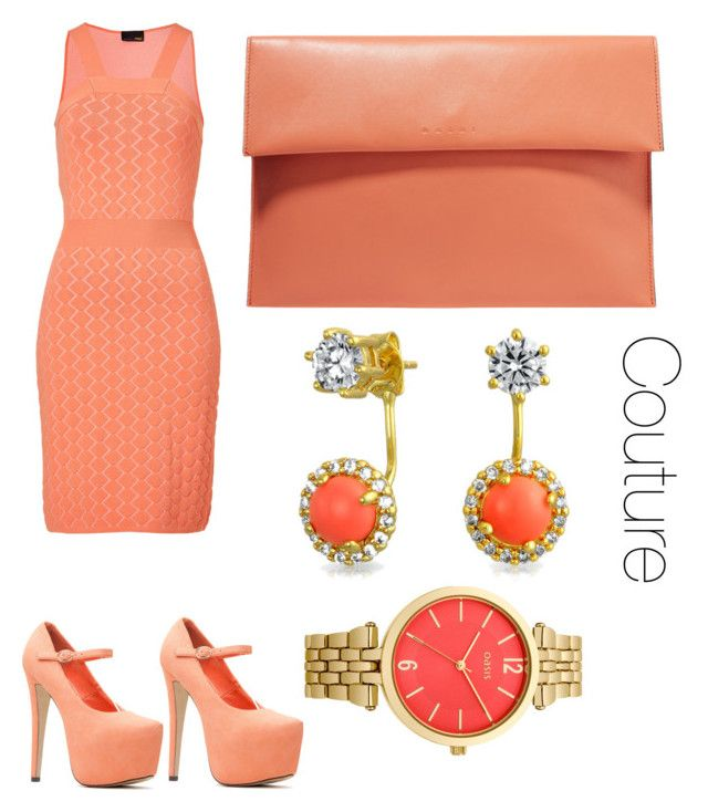 """Untitled #6"" by loko-kganyago on Polyvore featuring Fendi, Marni, Bling Jewelry and Oasis"