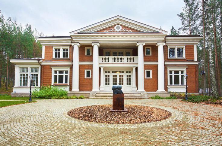 Лучшие деревянные дома из клееного бруса компании HONKA