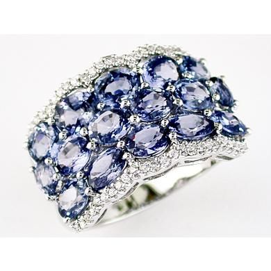 love the color: Sapphire Rings, Rings Bling, Sapphire Diamonds Rings, Sapphire Diamond Rings, Rights Hands Diamonds Sapphire, Things, Be Beautiful, White Gold, Rights Hands Rings