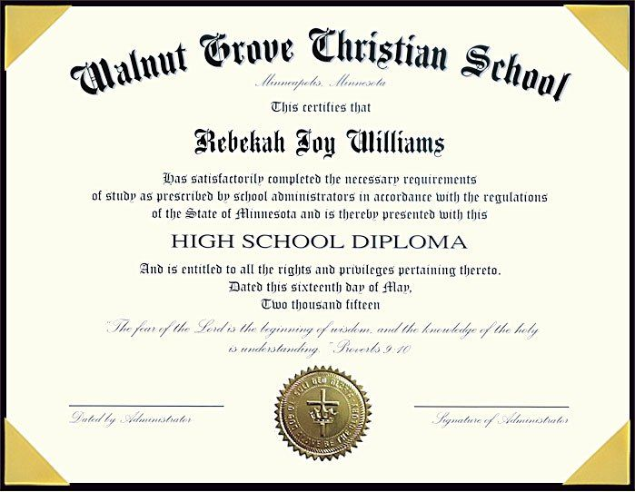 picture about Printable Home School Diploma named 60+ Cost-free Higher Higher education Degree Template - Printable