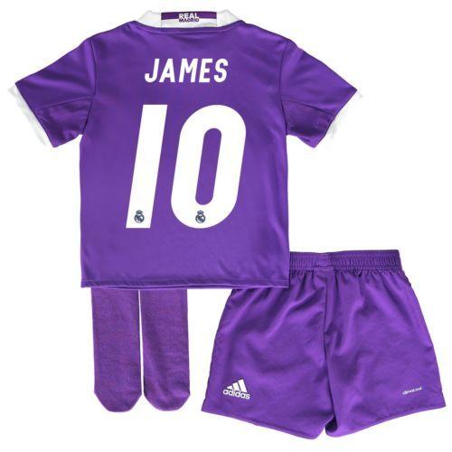 Kids 18-24 M Real Madrid Away Jersey 2016/17 James 10 RM3
