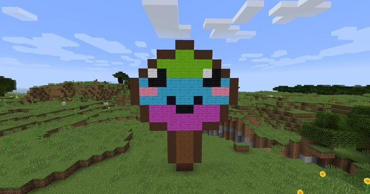 Minecraft Rainbow Lollipop gemaakt door CuteRainbowElsa