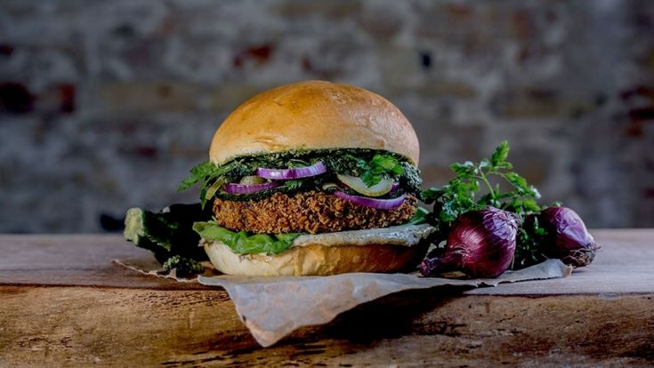 Vegetarburger fra Meyers