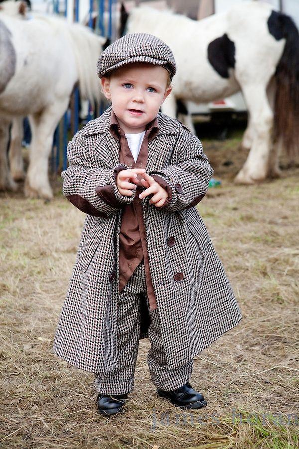 Ballinasloe Fair, Ireland// Young gent//
