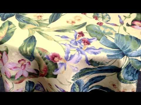 Tablecloth - Shalimar Damask Fabric