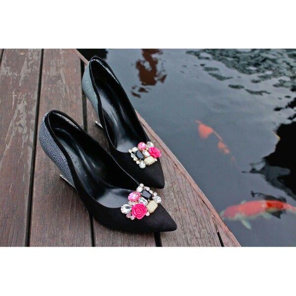 Shoe clips shophila hot pink from www.zero-stores.com