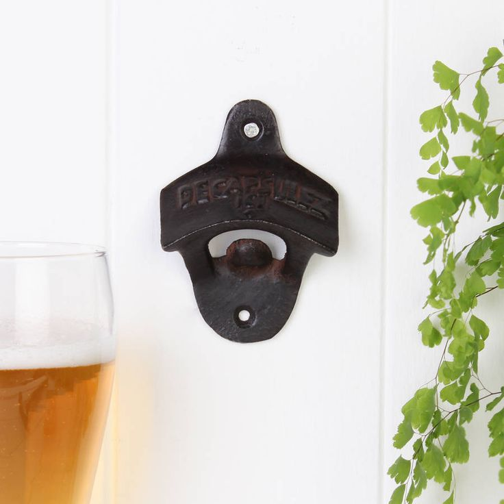 beautiful lines for5th wedding anniversary%0A Cast Iron Wall Mounted Bottle Opener  Wall Mounted Bottle OpenerWedding  Anniversary