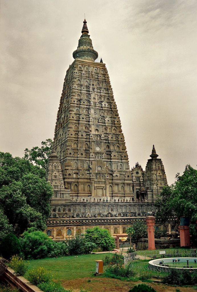 Bodh Gaya, India - A small town in the eastern state of Bihar, Bodhgaya is where the historical Buddha is said to have achieved enlightenment beneath a pipal tree.