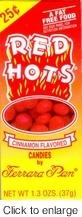 Red Hots - Ferrara Pan Candy