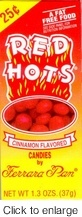 Red Hots - Ferrara Pan Candy