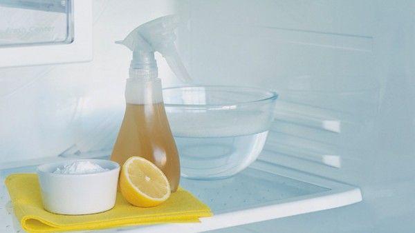 Limpieza y desodorización del frigorífico