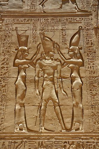 *EGYPTIAN:  Edfu Temple of Horus (by garda)