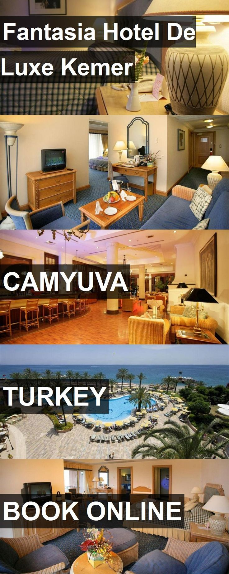 Hotel Fantasia Hotel De Luxe Kemer in Camyuva, Turkey. For more information, photos, reviews and best prices please follow the link. #Turkey #Camyuva #FantasiaHotelDeLuxeKemer #hotel #travel #vacation