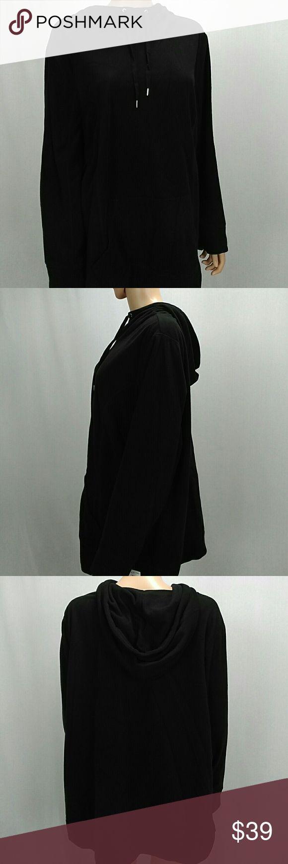 Style & Co Women Sport hoodie Sweater size2X Style & Co Women Sport Hoodie Sweater size 2X. NWT. Color is black. Style & Co Tops Sweatshirts & Hoodies