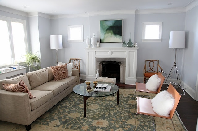 Fireplace: Rooms Layout, Living Rooms Paintings, Silver Foxes, Rooms Paintings Colors, House, Accent Colors, Colour Palettes, Rooms Colors, Leather Chairs