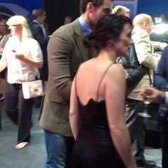 David Gandy with girlfriend Stephanie Mendoros?