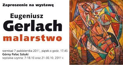 Pałac Sztuki w Krakowie | TPSP Kraków | wystawa malarstwa Eugeniusza Gerlacha