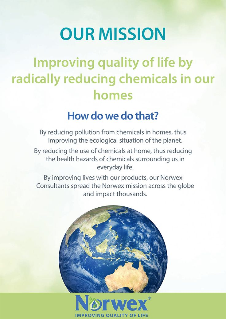 The Norwex Mission - Improving quality of life by radically reducing chemicals in our homes. Norwex Australia Visit my website to see more https://rachaelnorris.norwexbiz.com.au/?p=start