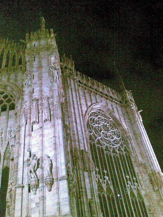 Milan, Italia_Duomo (detail)