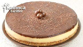 Pişmeyen Pasta Tarifi İçin Malzemeler Tabanı için;  2 paket yulaflı bisküvi, 3 yemek kaşığı pekmez (ben üzüm pekmezi kullandım), 3 yemek kaşığı tereyağı (yaklaşık 75 gram