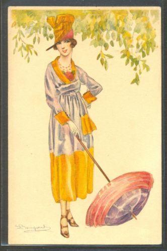 LH101 Art Deco A s Bompard High Fashion Lady Fancy Hat ...