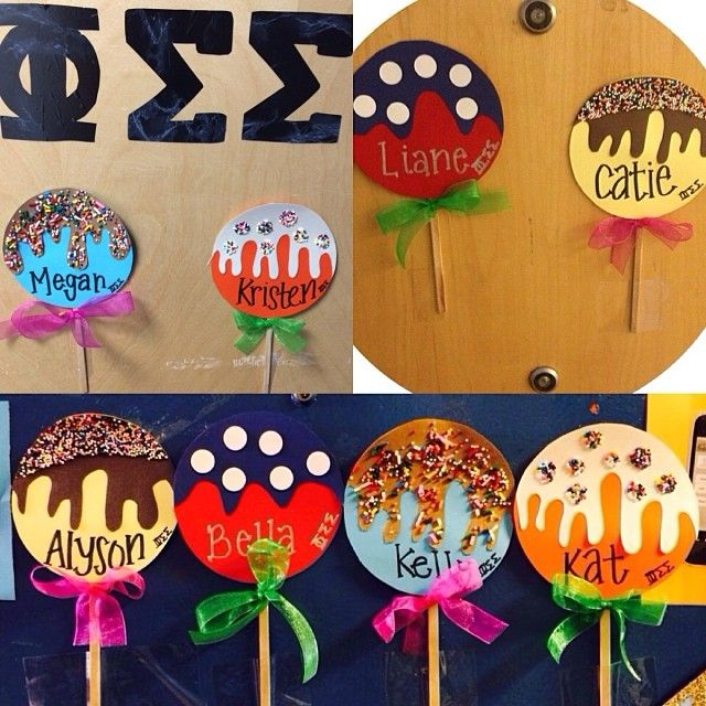 craft | sorority sugar