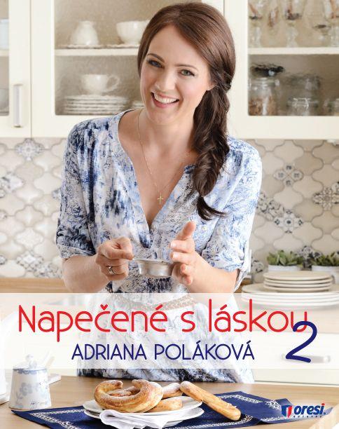 Po úspechu prvej knihy Napečené s láskou sa Adriana Poláková s láskou pustila do prípravy dvojky. Naďalej usilovne piekla, skúšala nové recepty , miešala ingrediencie , obmieňala postupy až z nich vybrala top 30, ktoré tvoria obsah tejto malej domácej cukrárky . Všetky recepty v Adrianinej knihe majú tri rovnaké ingrediencie.  Viac: http://www.bux.sk/knihy/218074-napecene-s-laskou-2.html