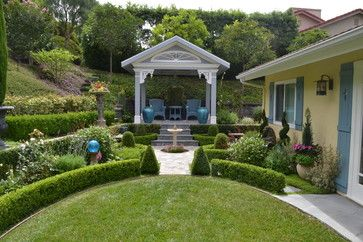 Formal White Garden Design Ideas, Pictures, Remodel, and Decor - page 9