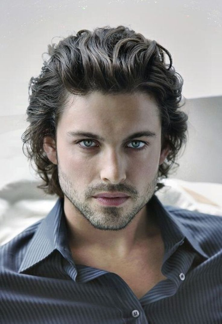 Curly Hairstyles Men Simple 14 Best Sexiest Curly Hairstyles For Men Images On Pinterest  Long