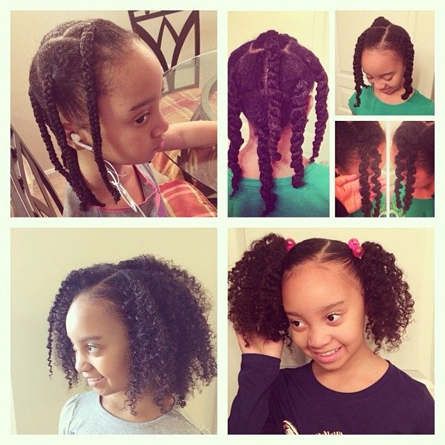 Awe Inspiring 1000 Images About Kids Natural Hair Styles On Pinterest Short Hairstyles For Black Women Fulllsitofus
