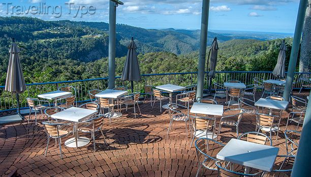St Bernards Hotel, Tamborine Mountain, Australia — by Andy Tope. St. Bernards Hotel is a grand old (for Australian standards) spot. With views like this from the outdoor dining area,...