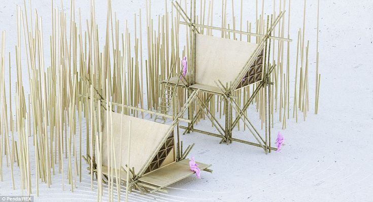 The design process: The temporary nature of the structure also means it can be removed whe...