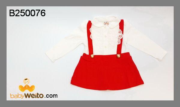 B250076  Baby Dress Merah  Bahan halus dan lembut  Warna sesuai gambar  IDR 135*