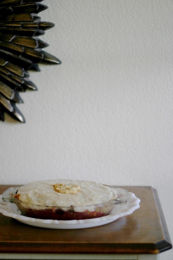barefoot in the kitchen: blueberry cream pie | PIE RECIPES | Pinterest ...