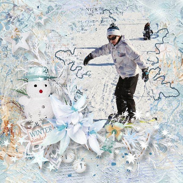 """Winter wonderland"" de Sekada designs  https://www.digitalscrapbookingstudio.com/sekada-designs/"