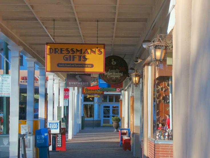 Dressman's Gift Shop, Santa Fe Plaza, Santa Fe, NM April 2009