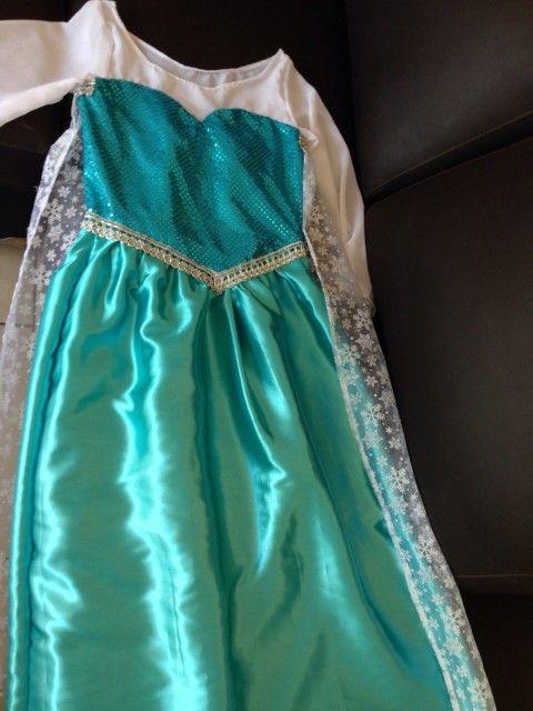 Elsa's dress, costume, handmade