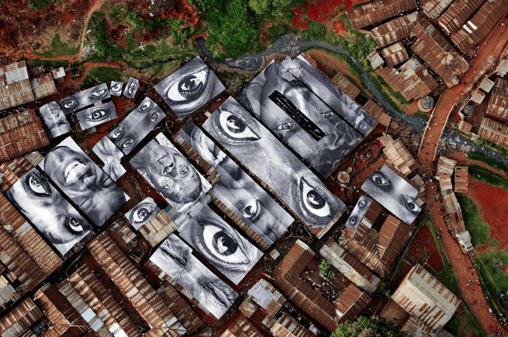 Edifici trasformati in autentiche opere d'arte urbana