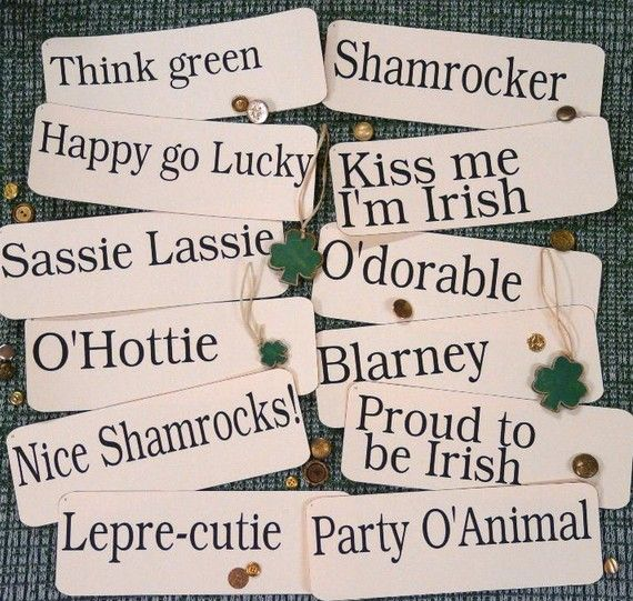 would be fun to wear for St. Patrick's Day :)