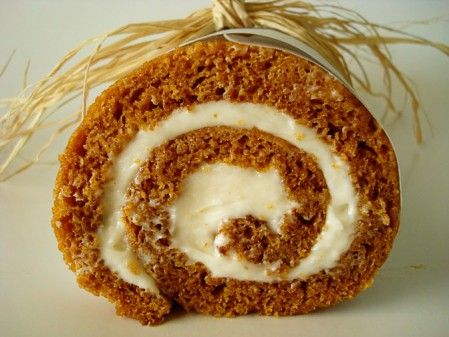 Pumpkin roll......please make one immediately and give to me, thank you