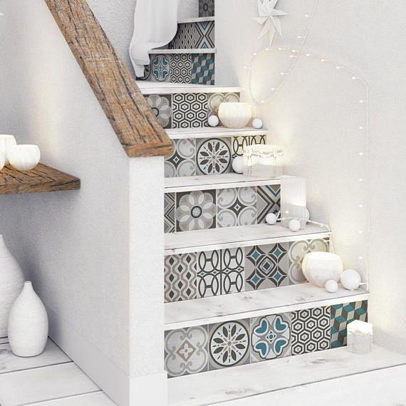 5 bandes cm cannes adhésifs pour les escaliers en pvc lavables impression à très haute résolution et longue durée de vie