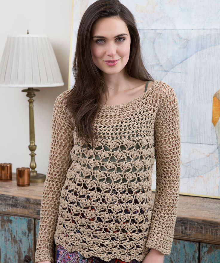 Knitting Amp Crochet Patterns Free Download : Lacy top by tammy hildebrand free crochet pattern uk