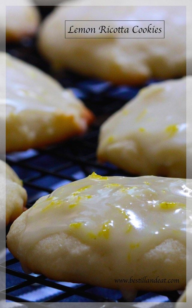 These Lemon Ricotta Cookies are SO sophisticated!  Rich & Delicious and just the perfect treat. Click the PIc and subscribe for always SIMPLY.GORGEOUS.FOOD