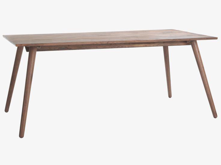 VINCE BROWNS Wood Walnut dining table - HabitatUK