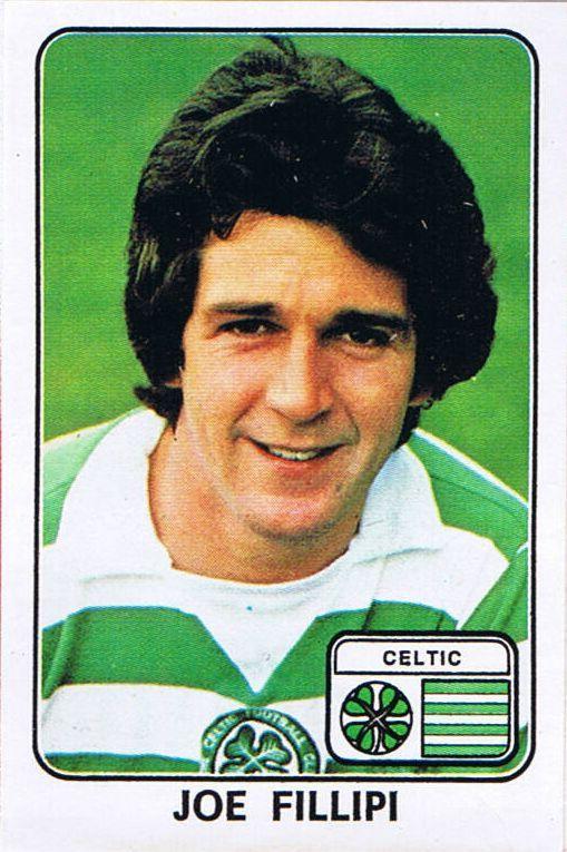 Joe Fillipi of Celtic in 1977.