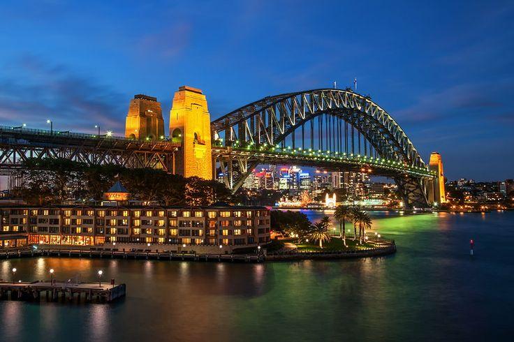 Harbour Bridge / Lunar Park / Sydney / Australia